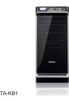 Vento TA-KB1 600W ATX Kasa Siyah-Gümüş/USB 3.1