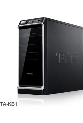 Vento TA-KB1 400W ATX Kasa Siyah-Gümüş/ USB 3.1