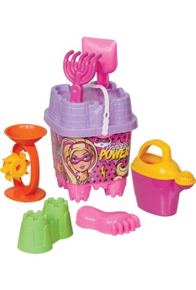 Barbie Büyük Kale Kova Set