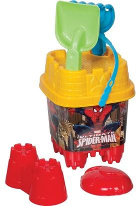Spiderman Küçük Kale Kova Set
