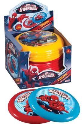 Spiderman Frizbi Tekli