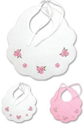Sevi Bebe Piti Çiçek Mama Önlüğü
