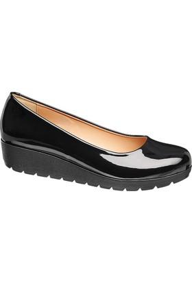 Deichmann Easy Street Kadın Bağcıksız Ayakkabı Siyah