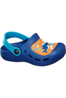 Deichmann Bobbi-Shoes Erkek Çocuk Clog Terlik Mavi