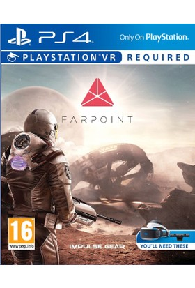 Sony Ps4 Farpoint VR