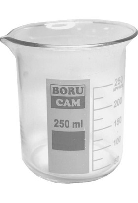 Borucam Beher Cam Kısa Form 250 Ml