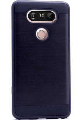 Gpack LG V20 Kılıf Darbe Emici Sert Katmanlı Case
