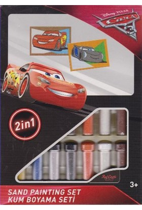 Cars 3 Kum Boyama Seti Ds-29