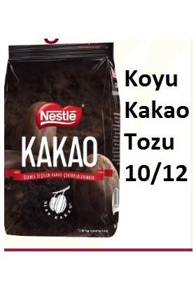 Nestle Nestle Kakao Tozu 1 Kg Koyu Renkli Dark Kakao