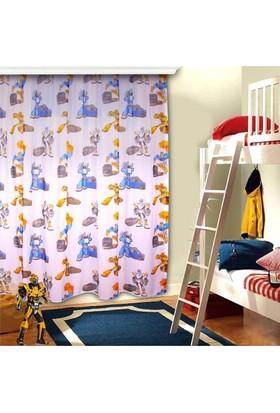 Ninikids Robotlar Çocuk Odası Tül Perde (250 x 210 cm)
