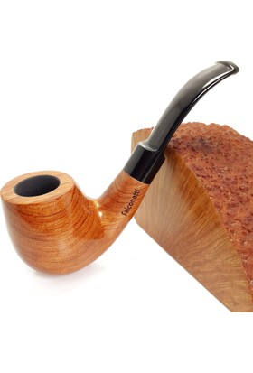 Falconetti Maun Ağacı Parlak El Yapımı Pipo pt65