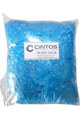 Cintos Dayanıklı Çift Lastikli 100'Lü Galoş