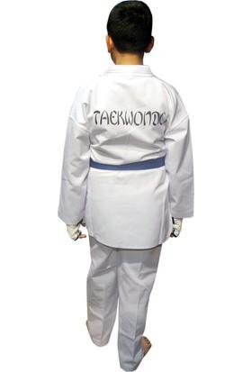 Beyaz Yaka Taekwondo Elbisesi 110 cm