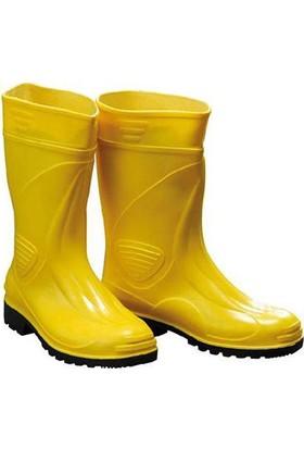 Gezer Kısa Sarı Çizme 43 No (1 Çift)