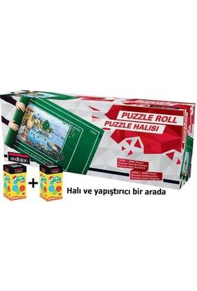 Anatolian Puzzle Halısı + 2 Adet Parlak Yapıştırıcı