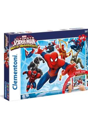 Clementoni 20704 104 Parça Örümcek Adam Puzzle (+ Uygulama )