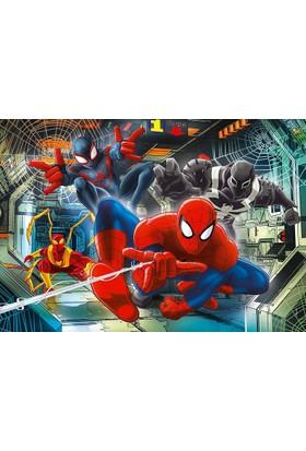 Clementoni 104 Parça Spider - Man Çocuk Puzzle (+ Mobil Uygulama )