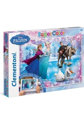 Clementoni 60 Parça Frozen Puzzle (+ Uygulama)