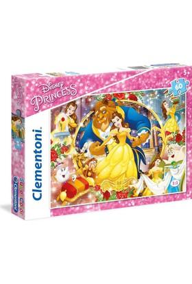 Clementoni 26966 - 60 Parça Disney Prensesleri Puzzle