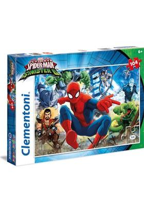 Clementoni 104 Parça Ultimate Spider - man ve Sinister 6 Puzzle