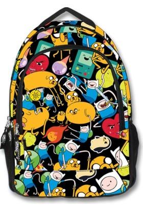 Adventure Time Okul / Sırt Çantası (1890)
