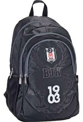 Beşiktaş Üç Bölmeli Sırt Çantası (87093)
