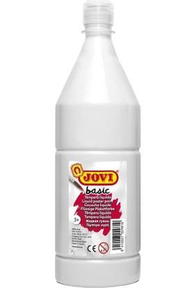 Jovi Basic 1000 cc Sulandırılmış Guaj Boya (Beyaz)
