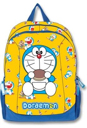 Ümit Çanta Doraemon Sarı Sırt Çantası (İki Bölmeli)