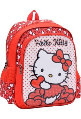 Hakan Çanta Hello Kitty Kırmızı Okul Çantası (87566)
