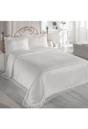 Derya Home Yatak Örtüsü - Ecrin Krem