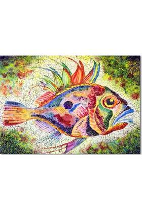 Hepsiburada Home Balık Kanvas Tablo-2