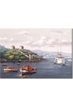 Hepsiburada Home İstanbul Kanvas Tablo-4