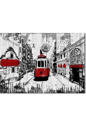 Hepsiburada Home Tramvay Kanvas Tablo