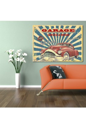 Hepsiburada Home Garage Kanvas Tablo