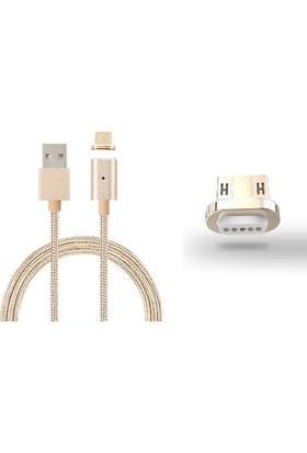 Mag Cable Micro USB Mıknatıslı Şarj ve Veri Aktarım Kablosu