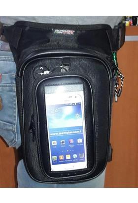 Bacak Çantası Manyetik Telefon Cepli Forte Gt 70410