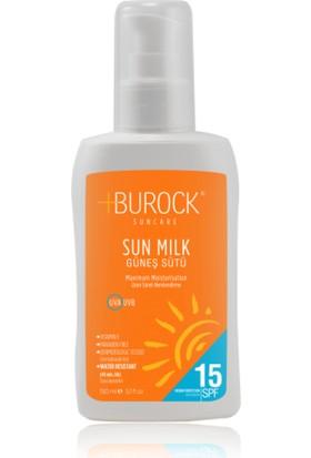 Burock Sun Care 150 Ml Spf 15 Faktör Güneş Kremi