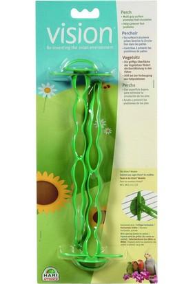 Vision Yeşil Plastik Tünek (M11-12, L11-12)