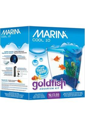 Marina Goldfish Mavi Akvaryum Kit 6,7 Lt