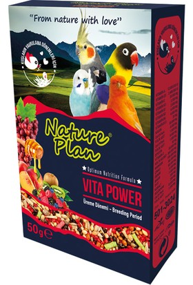 Nature Plan Vita Power Üreme Dönemi 50 G