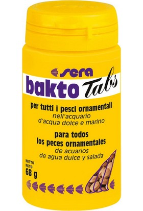Sera Bakto Tablet 100 Ml