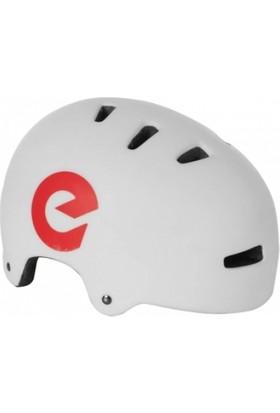 Ennu Bcn Kask 2017 Beyaz Kırmızı S/M (54-58Cm)