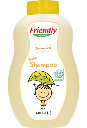 Friendly Bebek Şampuanı Organik Yulaf 400ml
