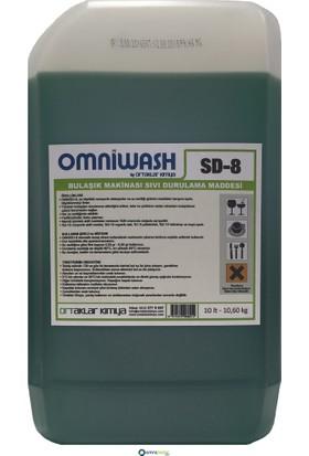 Omniwash Endüstriyel Bulaşık Makinesi Parlatıcısı 10,60 Kg Sd8