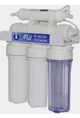 Milsuart AçıkKasa Pompasız 5 Aşamalı Su Arıtma Cihazı