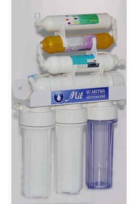 Milsuart AçıkKasa 7 Aşamalı Pompasız Su Arıtma Cihazları