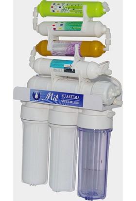 Milsuart AçıkKasa 8 Aşamalı Pompasız Su Arıtma Cihazları