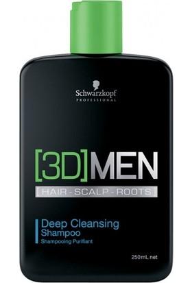 3D Men Deep Cleansing Derin Temizleme Şampuan 250 Ml