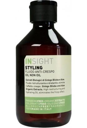 Insıght Styling Oil Non Oil Saç Şekillendirici Yağsız Serum 250Ml