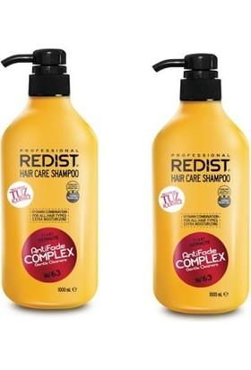 Redist Tuzsuz Şampuan 1000 Ml 2 Adet